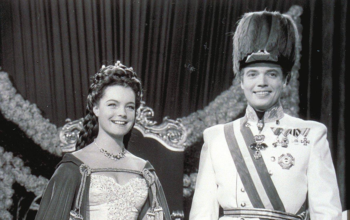 Karlheinz Böhm als Kaiser Franz im Film Sissi