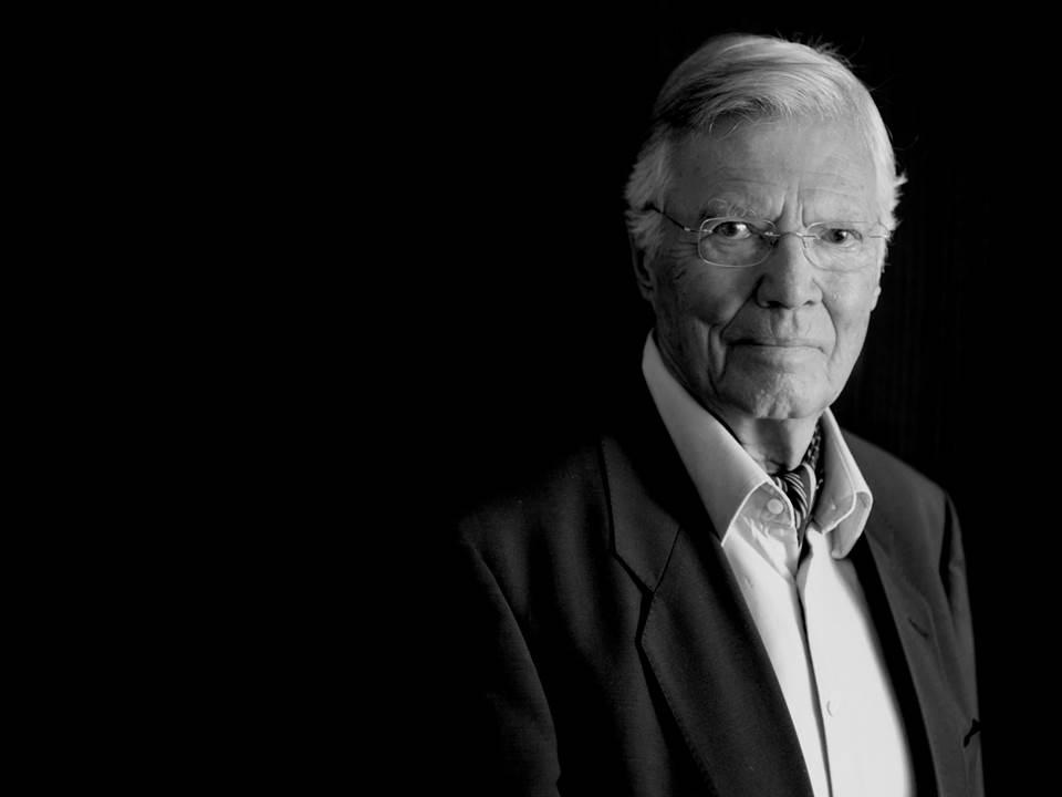 Portrait vom verstorbenen Karlheinz Böhm | Stiftung Menschen für Menschen