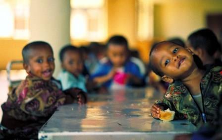 Eröffnung Abdii Borii-Kinderheim