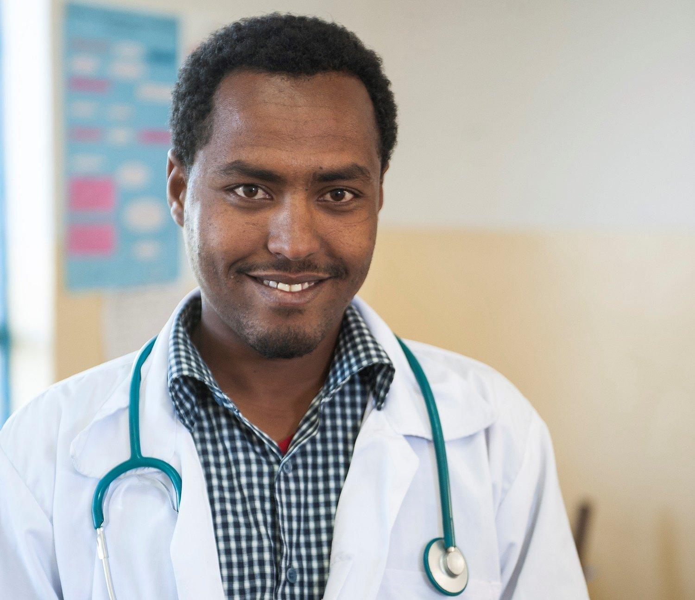 Daniel Tadesse, 25, Krankenpfleger am Health Center in Ginager