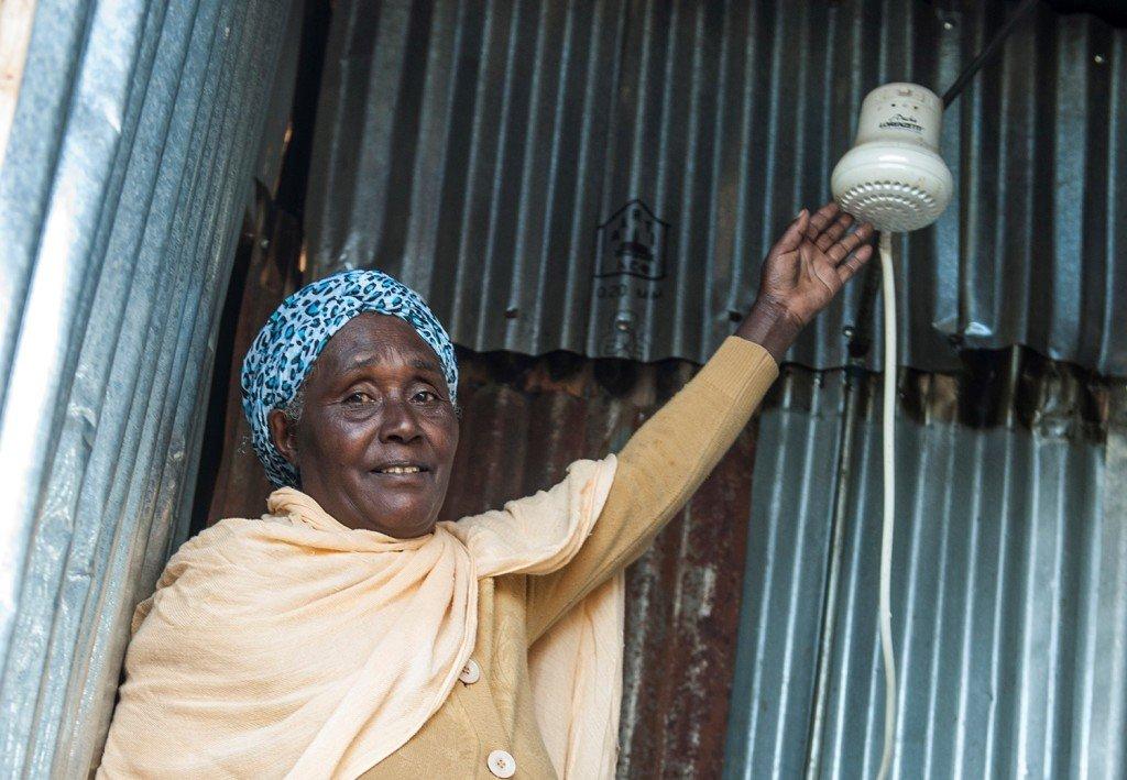 Besunesch Abebe, 60, Betreiberin des ?Getachew Memorial Hotels? in Ginager