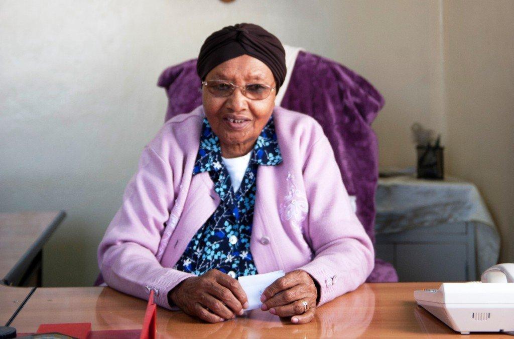 Abebech Gobena, 74, Leiterin des Abebech Gobena-Heim in Addis Abeba