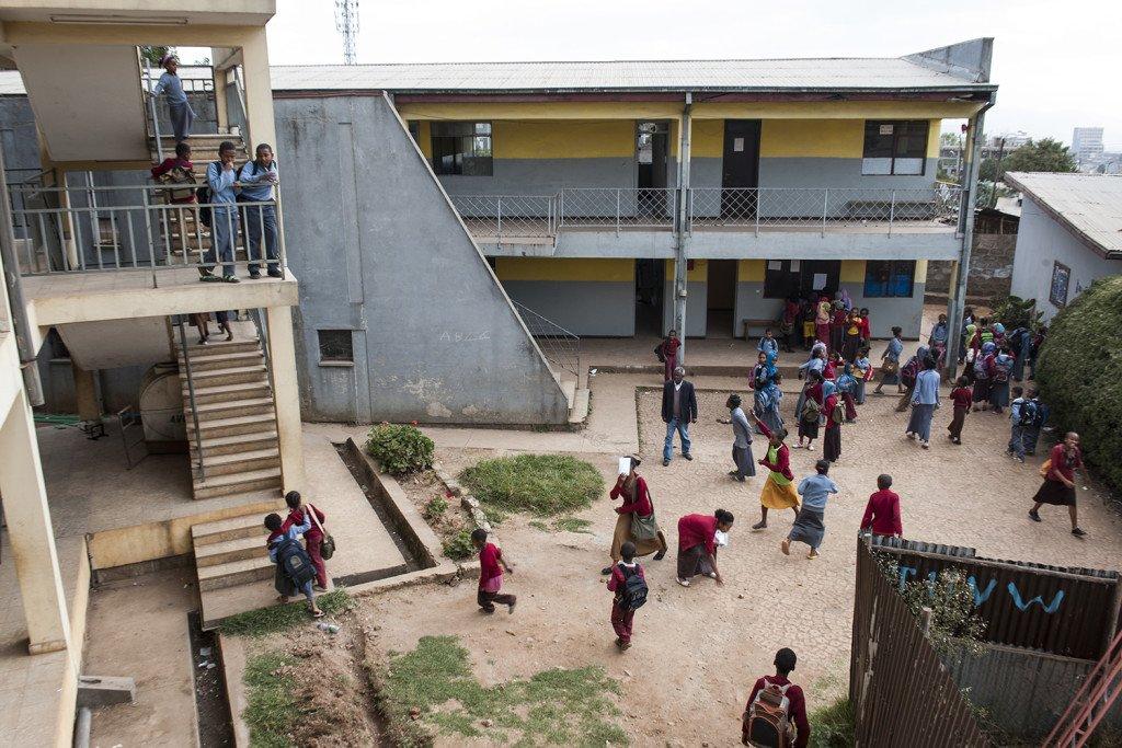 Abebech Gobena Schule