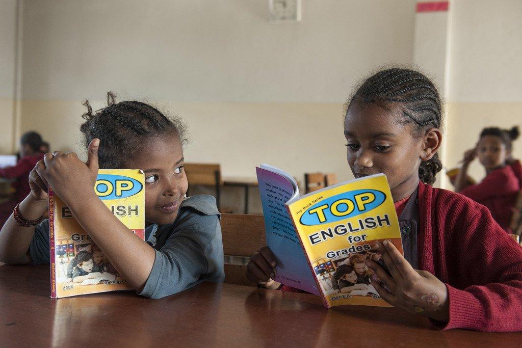 Bücherei der Abebech Gobena Schule