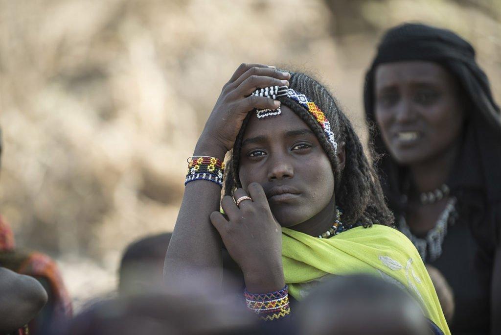 Afar-Frau in Äthiopien