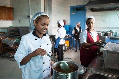 Frauenförderung in Äthiopien