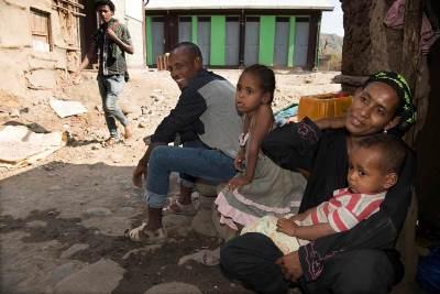 Welttoilettentag: Duschen in Shewa Robit