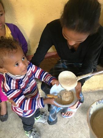 Nahrung für Kinder
