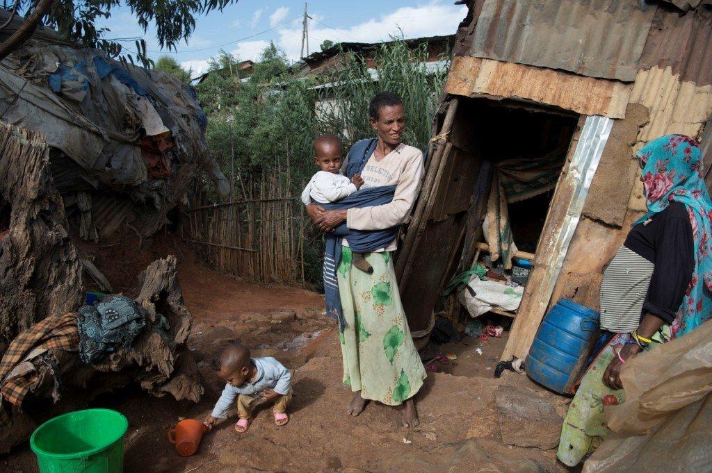 Soziale Gerechtigkeit im slum