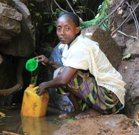 Wasserstelle Äthiopien