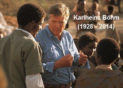Karlheinz Böhm in Äthiopien