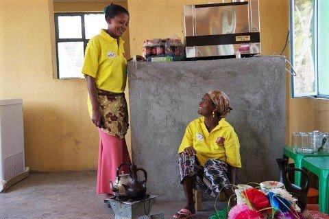 Arbeit für arme Frauen