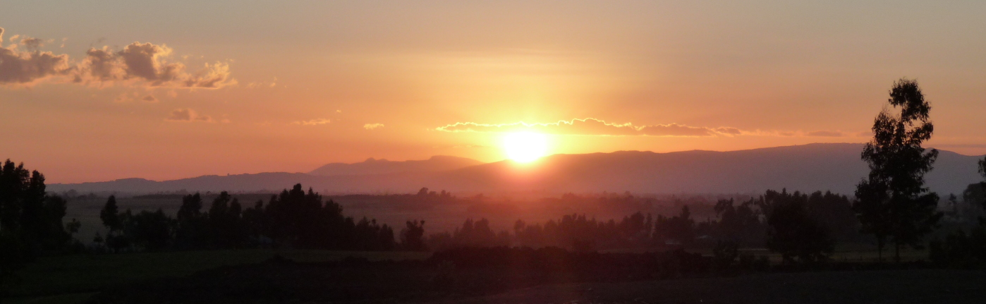 Sonnenuntergang Legateseite