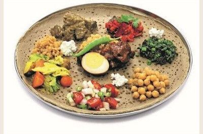 """Äthiopisches Gericht """"Doro Wot"""""""