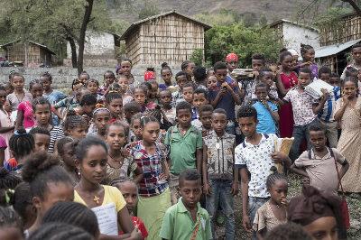 Überbevölkerung in Äthiopien
