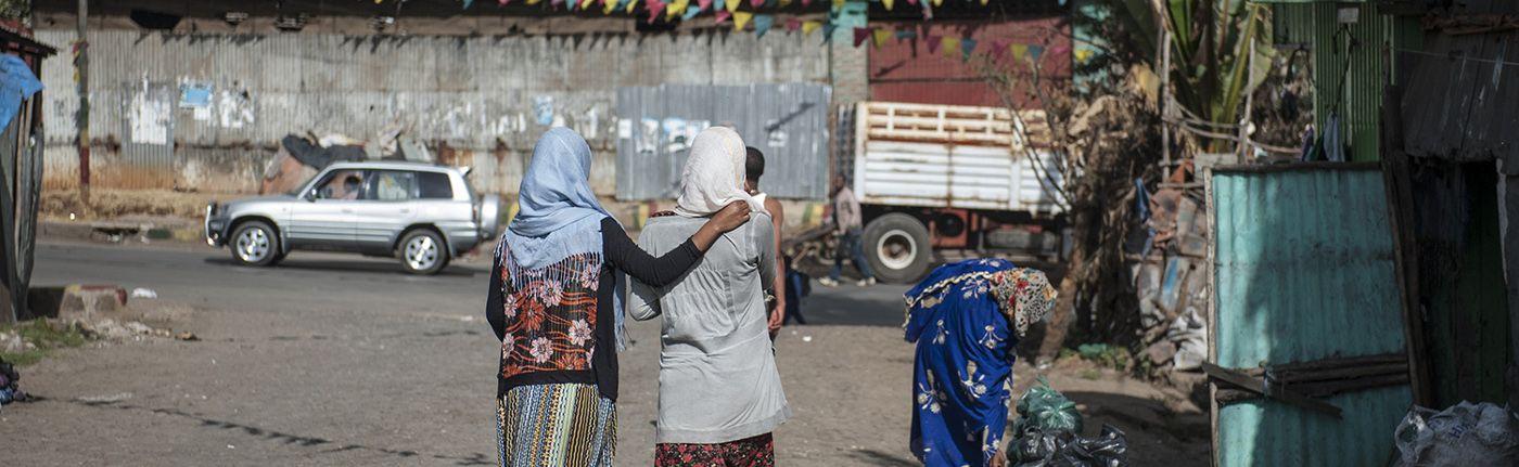 Anlassspenden: Frauen gehen fort