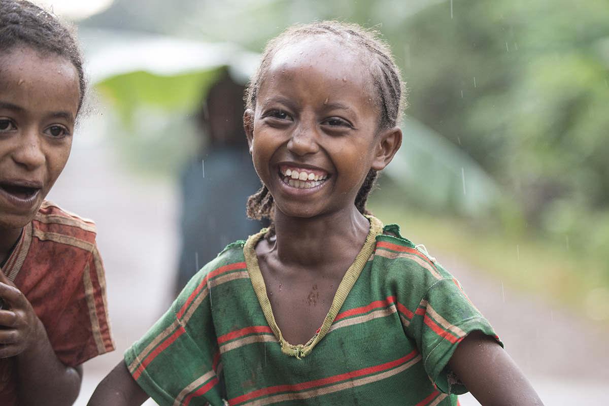 Lächelndes Mädchen