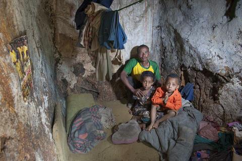Wohnung im Slum