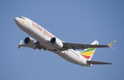 Ethiopian Airlines-Flugzeug