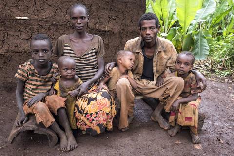 Arme Familie lebt mit 1 Franken pro Tag