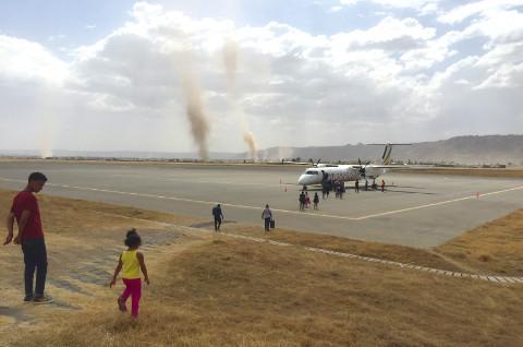 Ethiopian Airlines Flugzeug