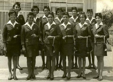 Ethiopian Airlines: Stewardessen 1970