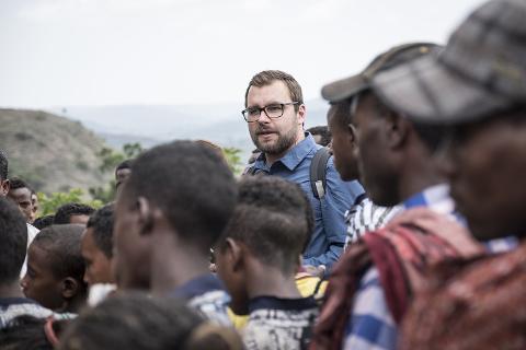 Michael Kesselring in Äthiopien
