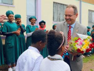 Empfang vom Schweizer Botschafter Daniel Hunn in Äthiopien