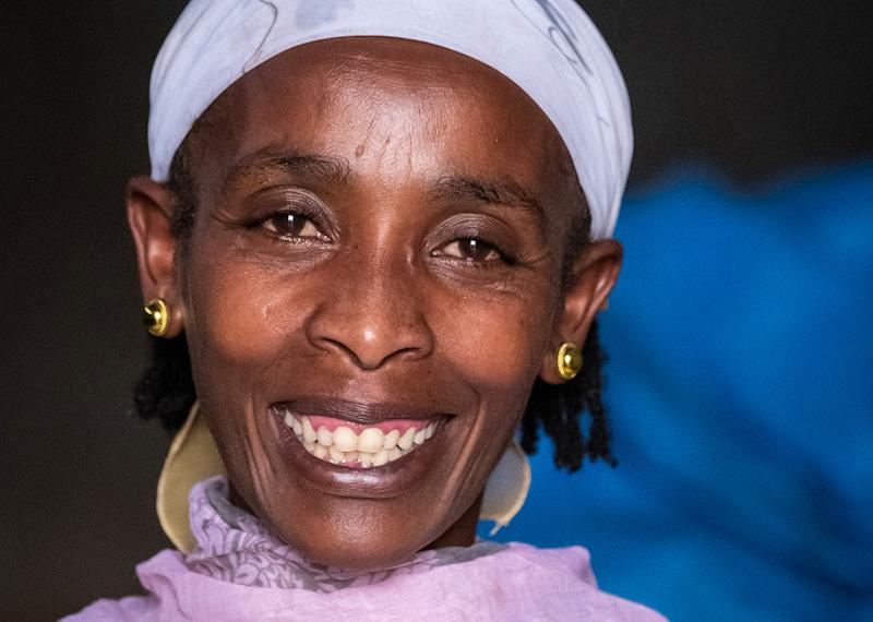 Kafeebäuerin Ayantu Gitessa | Stiftung Menschen für Menschen