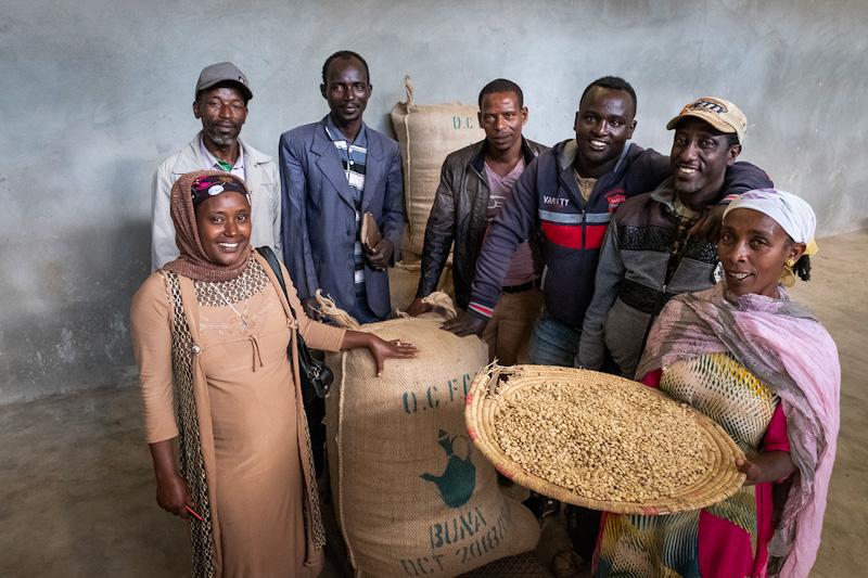 Kaffee-Kooperative in Kelaltu | Stiftung Menschen für Menschen
