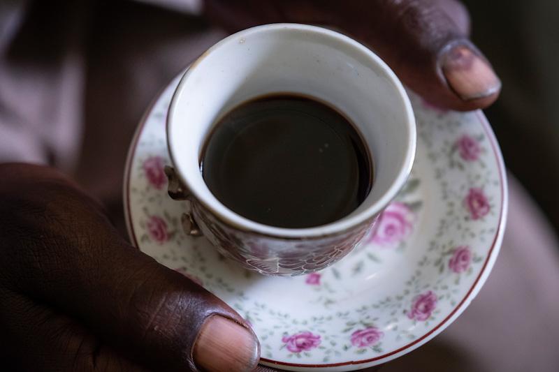 Äthiopische Kaffeetasse | Stiftung Menschen für Menschen