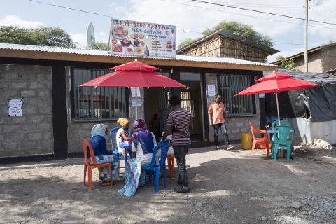 WASH-Projekt: Ein Café in Zuti