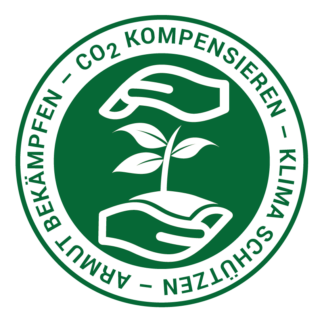 Label Klimakompensation - Co2 Kompensation