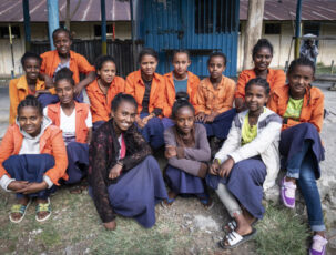 Weltfrauentag: Mädchenschulklub in Debre Berhan