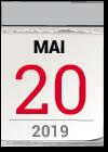 Kalenderblatt 20 Mai 2019