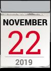 Kalenderblatt 22. November