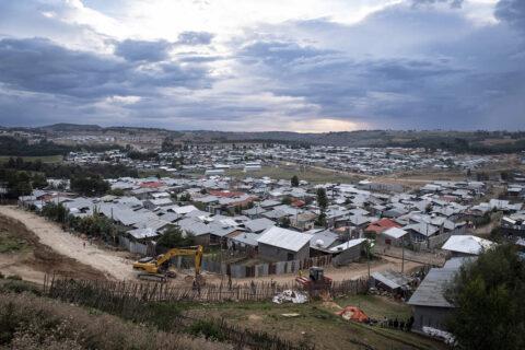 Stadt Debre Berhan, Äthiopien