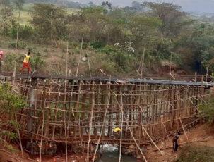 Baukonstruktion für Aquädukt
