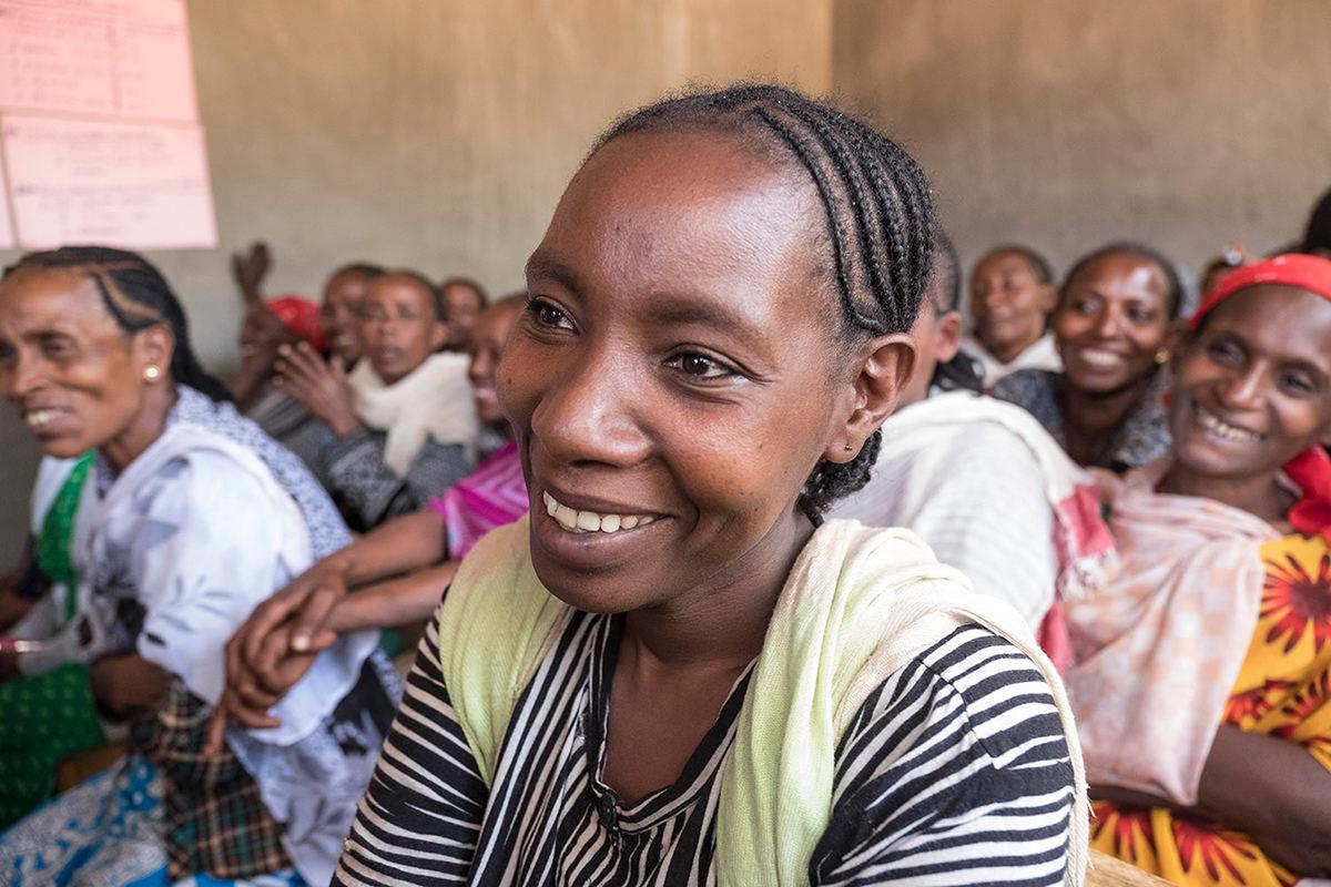 Doch in der Frauen-Selbsthilfegruppe von Menschen für Menschen schöpft sie neue Hoffnung