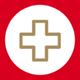 Icon Medizin: Erste Hilfe-Kreuz