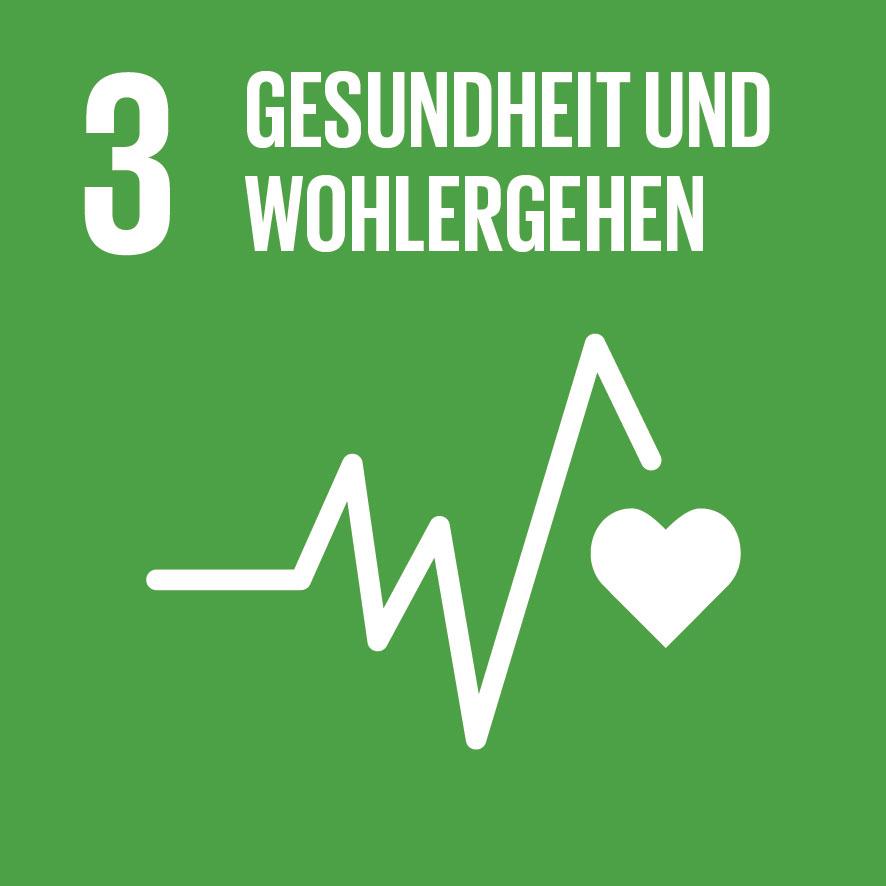 Ziel für nachhaltige Entwicklung Nr. 3