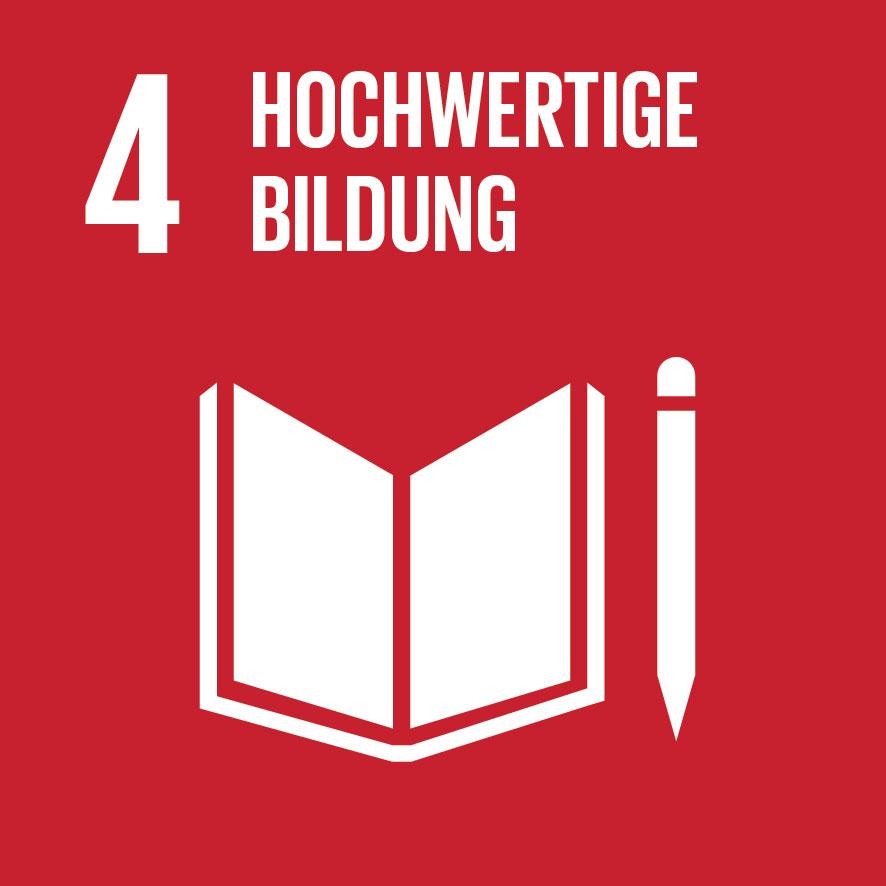 Ziel für nachhaltige Entwicklung Nr. 4
