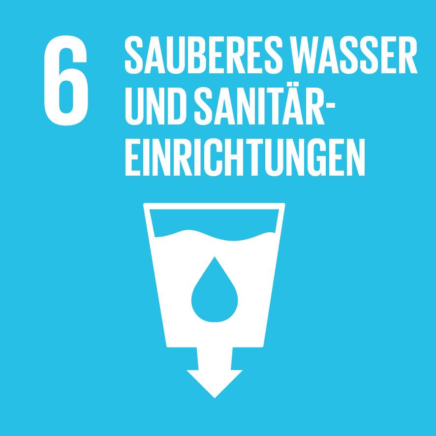 Ziel für nachhaltige Entwicklung Nr. 6