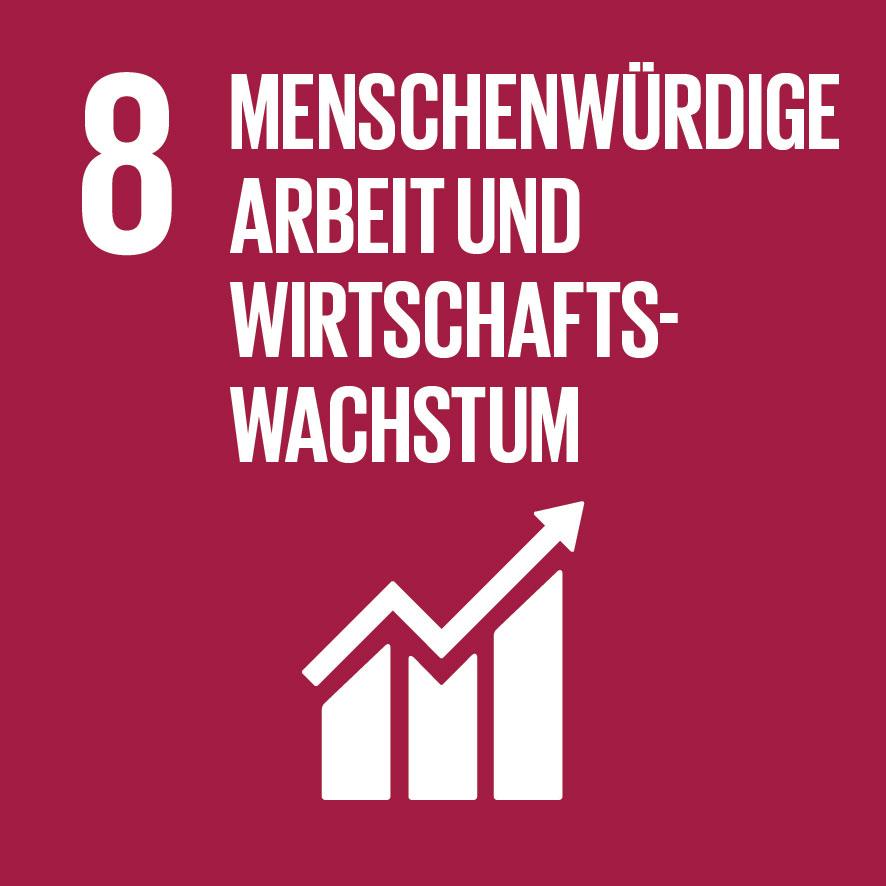 Ziel für nachhaltige Entwicklung Nr. 8