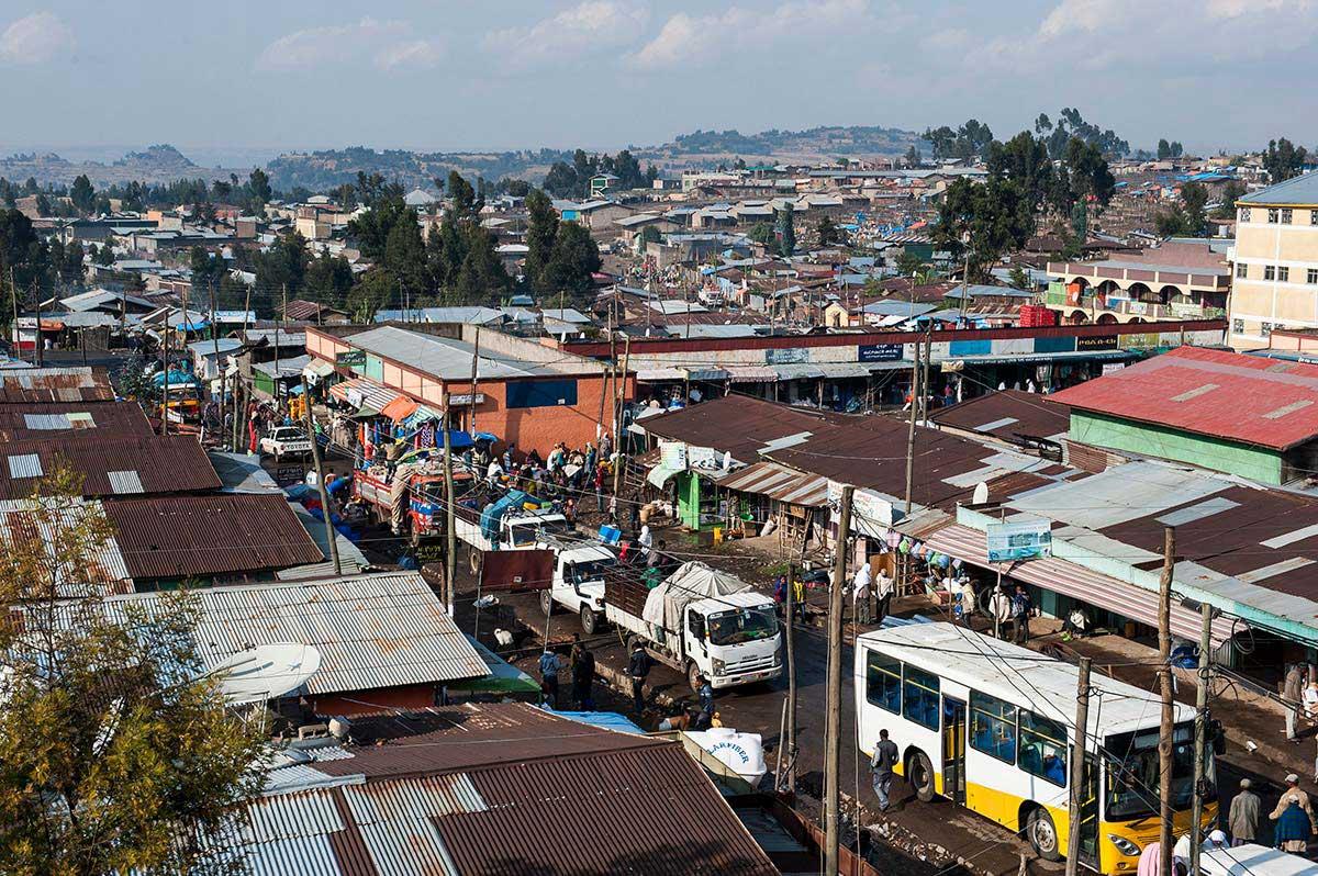 Debre Berhan – eine Grossstadt in Äthiopien, Anziehungspunkt für viele Zuzügler