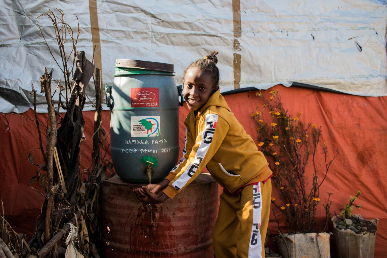 Besonders wichtig in der Pandemie: Zugang zu Hygiene