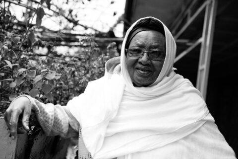 Abebech Gobena in ihrem Kinderheim