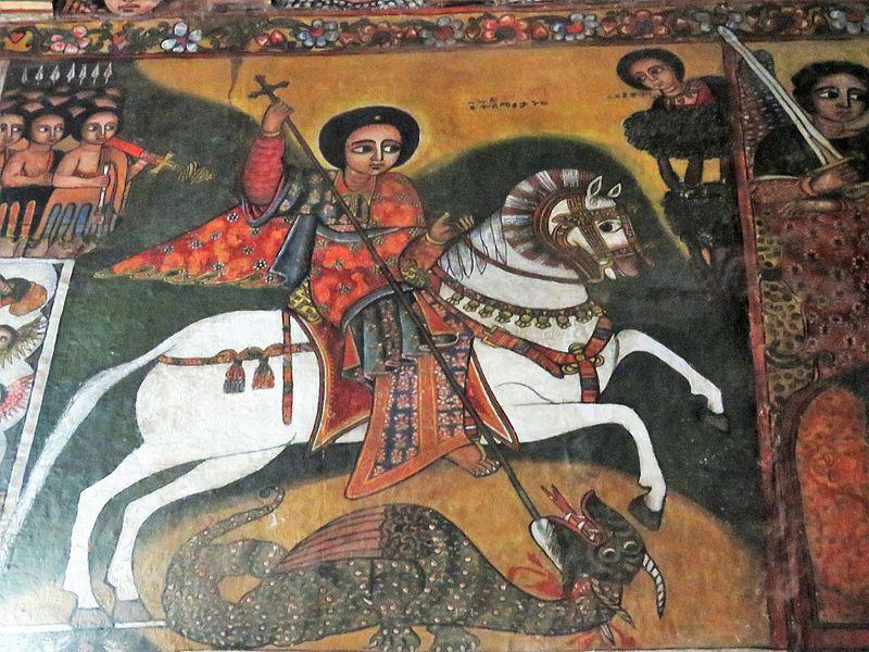 Ein beliebtes Motiv: der heilige Georg