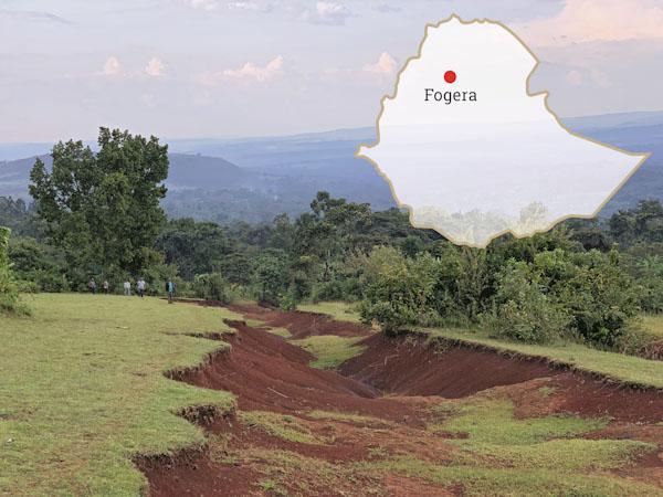 Bodenerosion in Fogera