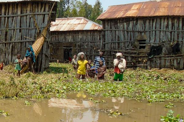 Hochwasser in Fogera